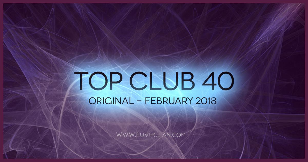 Top Club 40 Original - February 2018