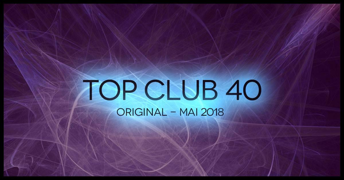 Top Club 40 Original - May 2018