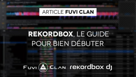 Guide rekordbox logo fuvi clan logo rekordbox